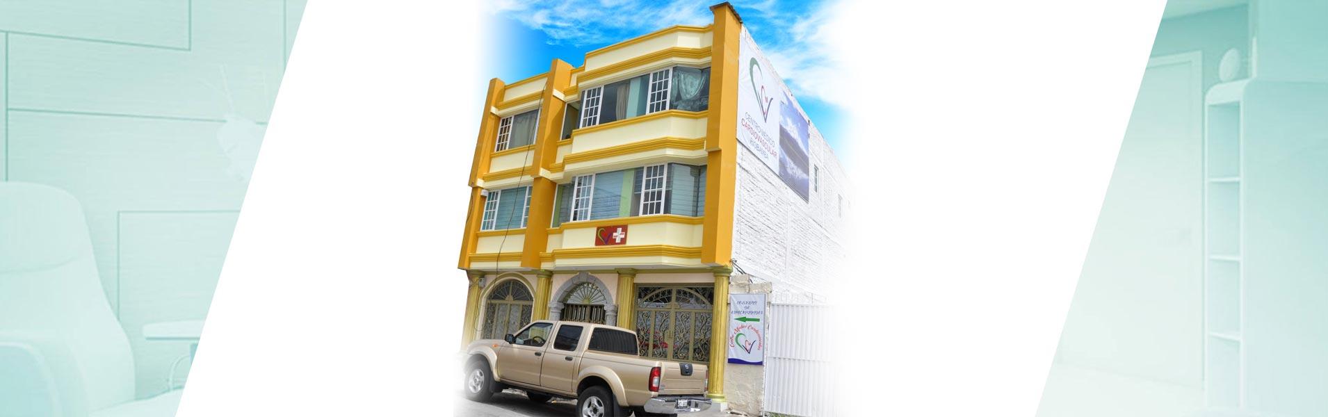 centro medico cardiovascular riobamba exterior